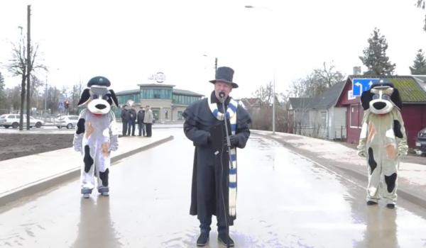 S. Dariaus ir S. Girėno gatvės atidarymo ceremonija